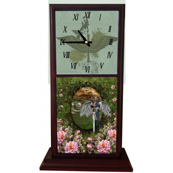 Deserving Praise Mantle Clock