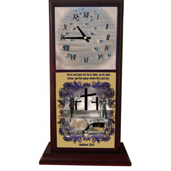 Matthew 28:6 - Mantle Clock