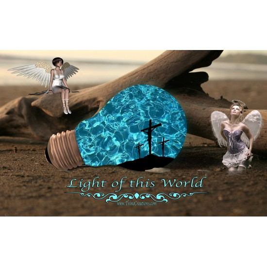 Light of this World - Cutting Board