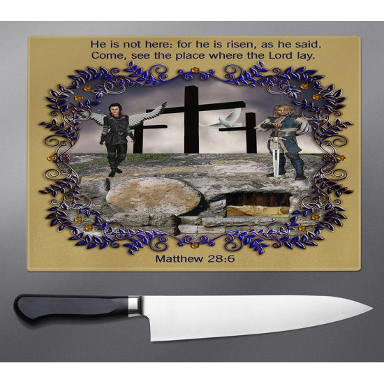 Matthew 28:6 Cutting Board