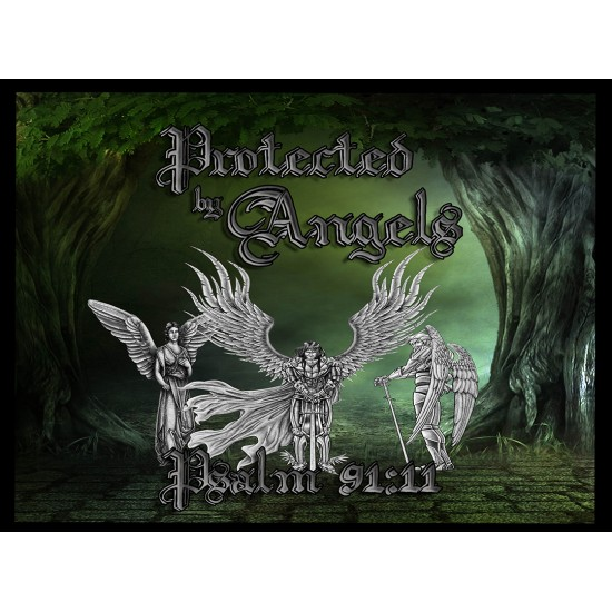 Protected by Angels - Cutting Board