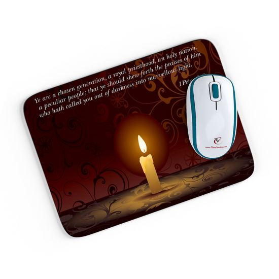 1 Peter_2_9 Mouse pad