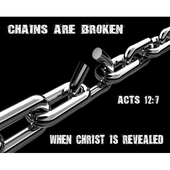 Chains are Broken - Mouse pad