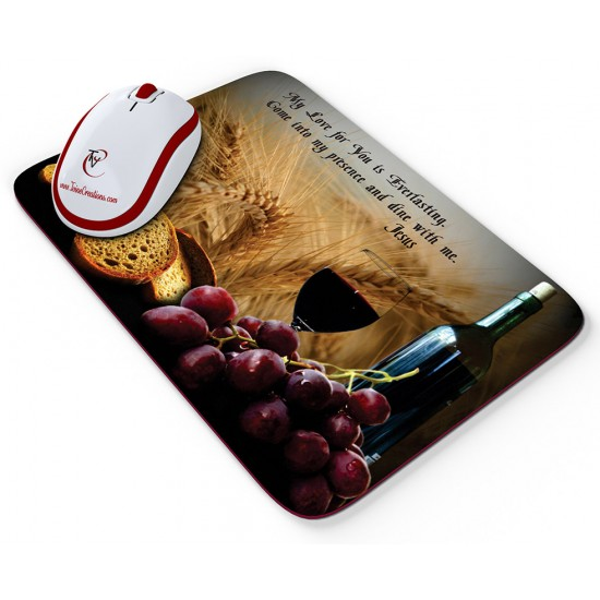 Dine with Me - Mouse pad