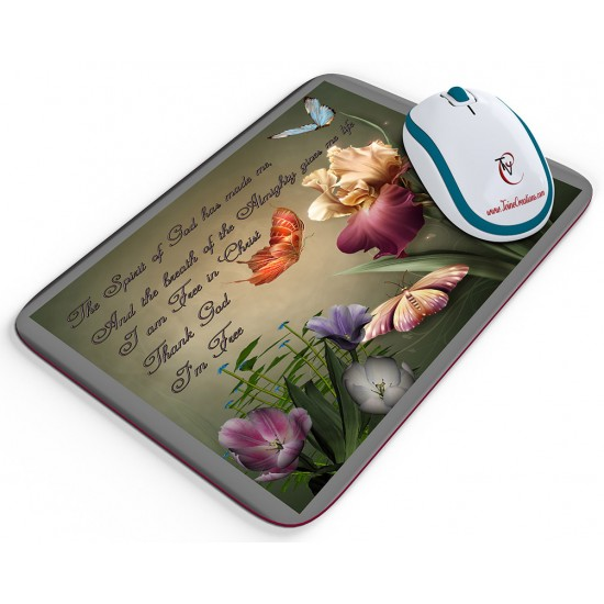 Free in Christ - Mouse pad