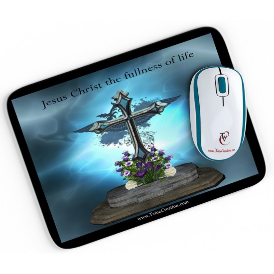 Fullness of Life - Mouse pad