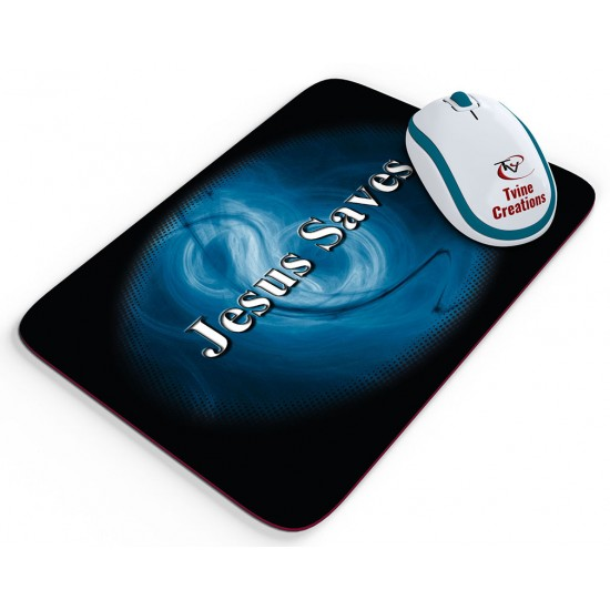 Jesus Saves 2 - Mouse pad