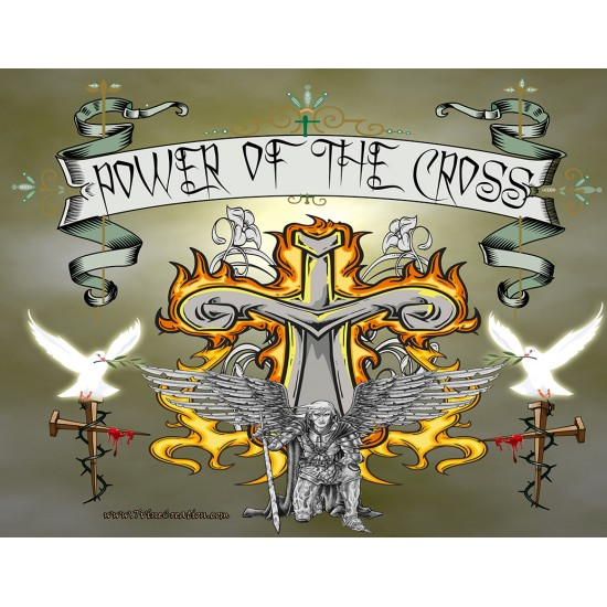 Power of the Cross - Mouse pad