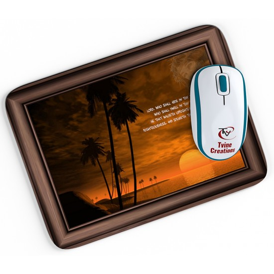 Psalm 15:1-2 - Mouse pad