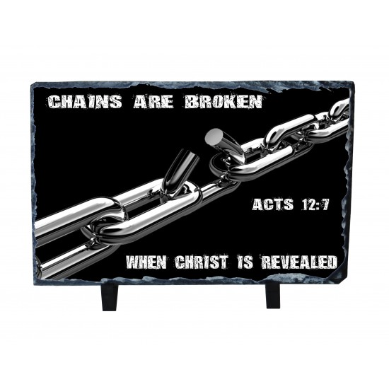 Chains are Broken - Photo Slate