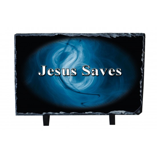 Jesus Saves 2 - Photo Slate