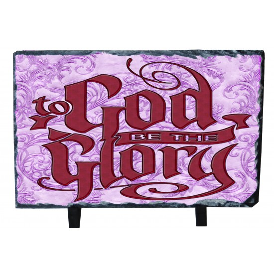 God be the Glory - Photo Slate