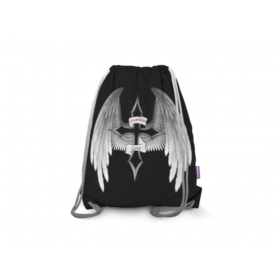 Exceptional Love Drawstring Backpack