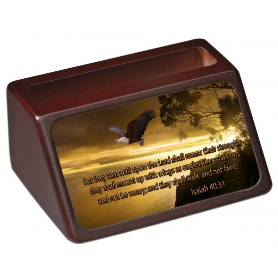 Isaiah 40:31 Business Card Holder