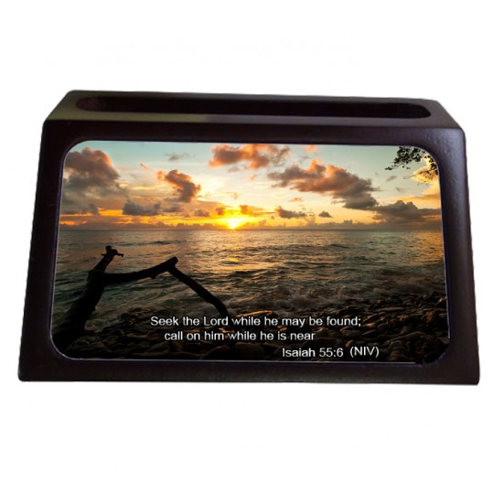 Isaiah 55:6 Business Card Holder