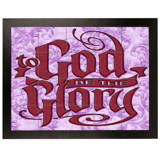 to GOD be the GLORY Mural