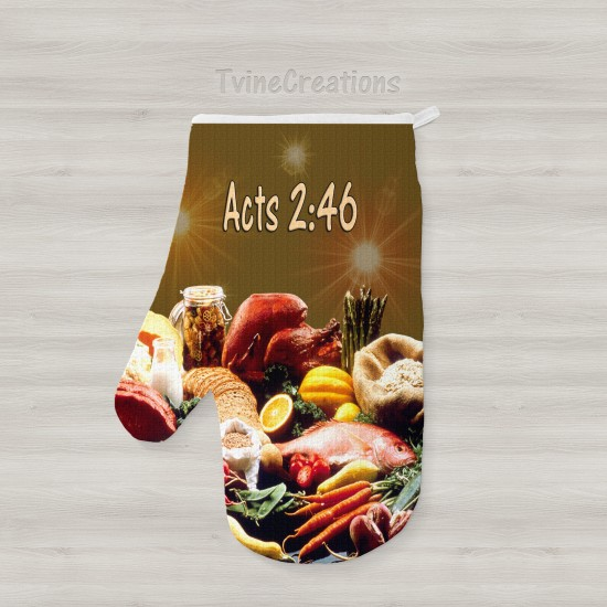 Acts 2:46 - Oven Mitts