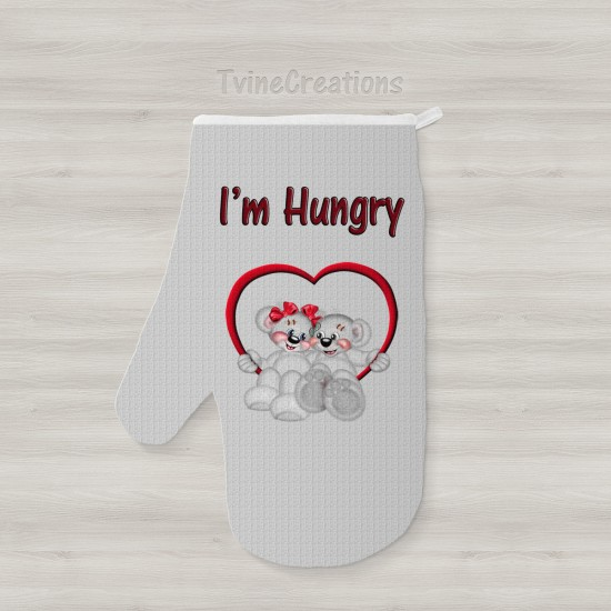 I'm Hungry - Oven Mitts