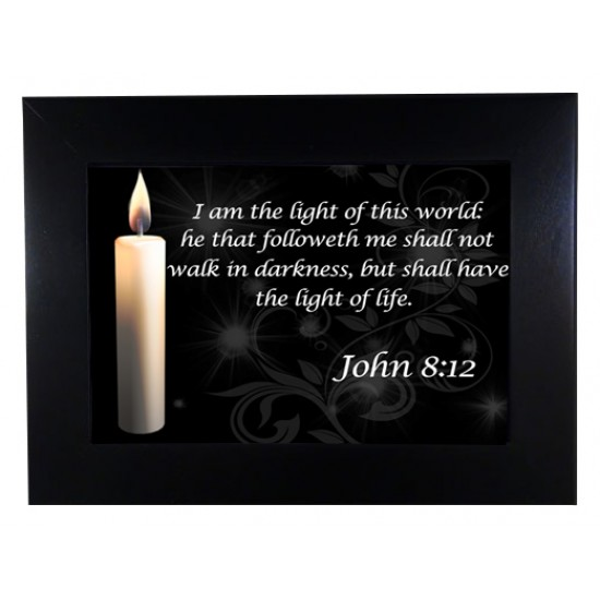 Keepsake Boxes - John 8:12